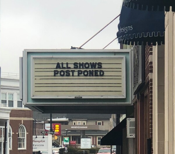 All Shows Postponed